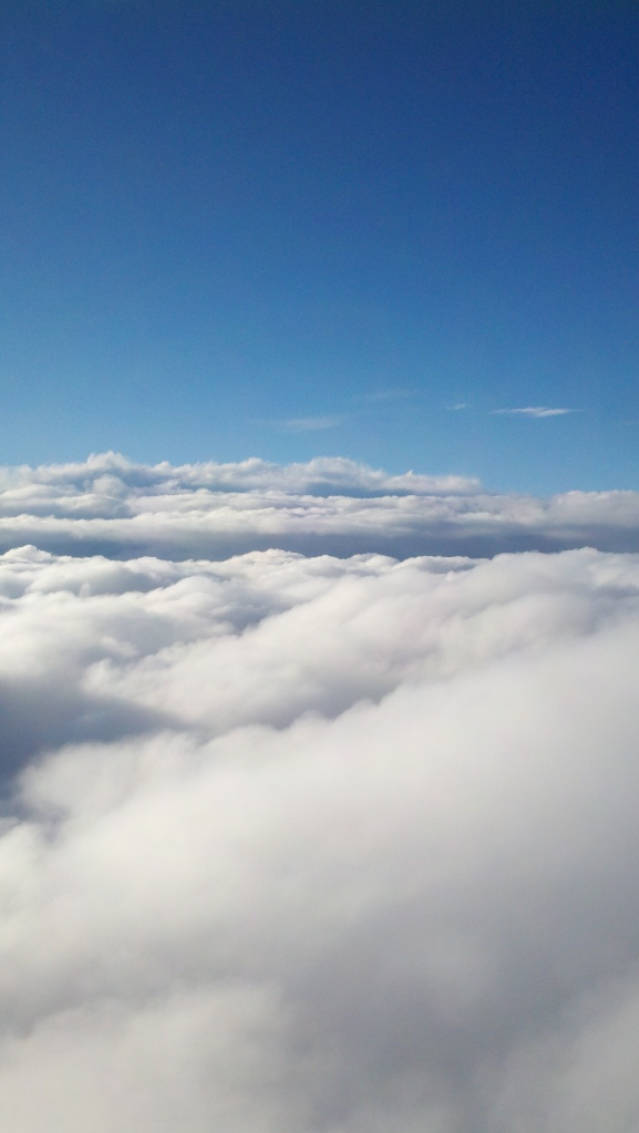 clouds viewed from plane
